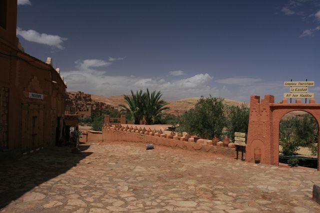 Zdjęcia: Ait ben Haddou, Ouarzazate, Okolice kazby Ait ben Haddou, MAROKO
