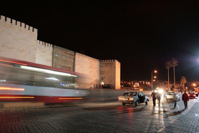 Zdjęcia: Medina w Meknes, Meknes, Wieczór w Meknes, MAROKO