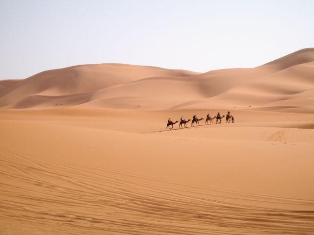 Zdjęcia: Pustynia, Południe, Karawana, MAROKO