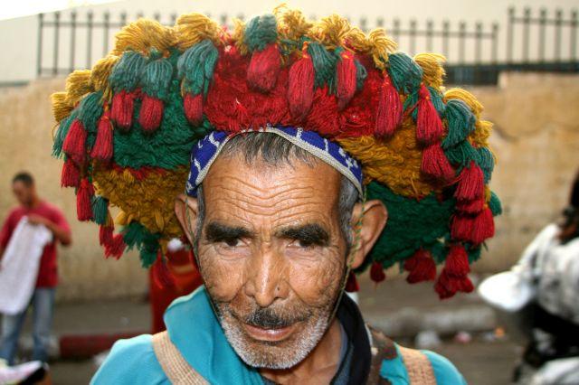 Zdjęcia: Meknes, Sprzedawca wody, MAROKO