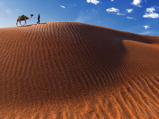 Zdjęcia: Zagora, pustynia, na pustyni, MAROKO
