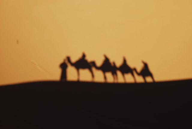 Zdjęcia: Sahara, Nasza karawana, MAROKO