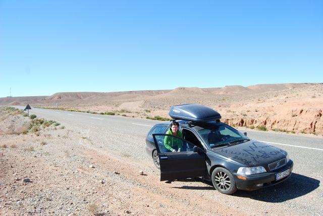 Zdjęcia: gdzies w drodze miedzy Warzazat a Merzoug, w drodze na Sahare, MAROKO