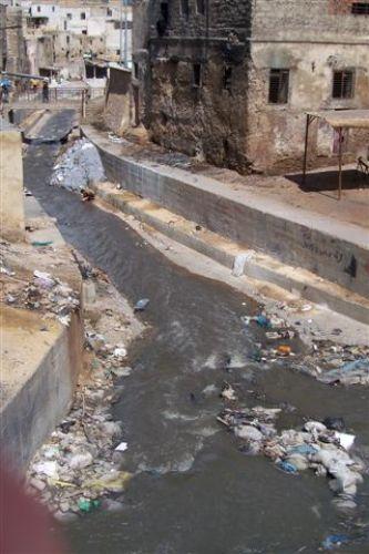 Zdjęcia: FEZ, rzeka-ściek, MAROKO