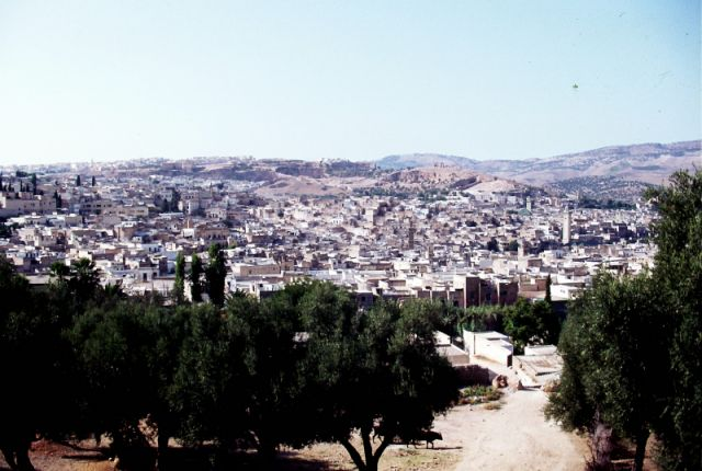 Zdjęcia: FEZ, centrum, dolina Fezu, MAROKO