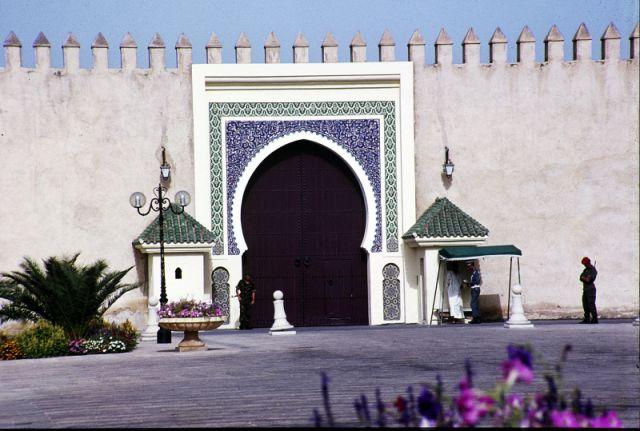 Zdjęcia: Fez, centrum, pałac królewski, MAROKO