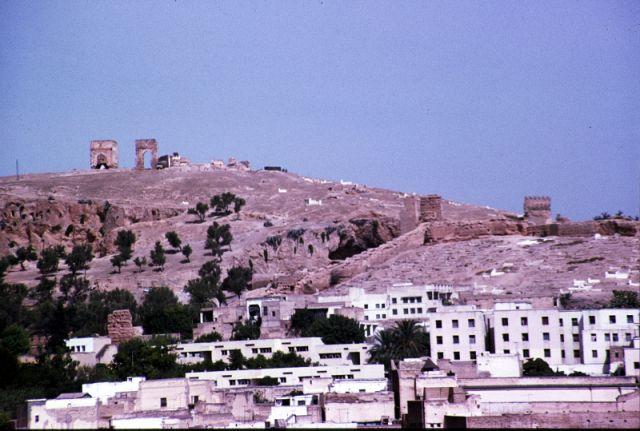 Zdjęcia: Fez, centrum, mury obronne, MAROKO
