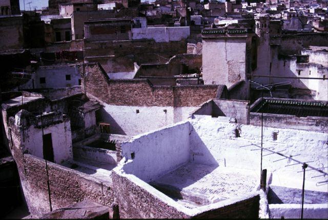 Zdjęcia: Fez- medina, centrum, domostwa, MAROKO