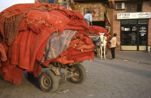 Zdjęcia: Marrakech, scenka z placu Jemma el Fna, MAROKO
