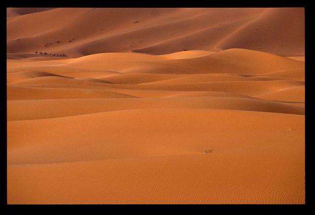 Zdjęcia: Erg Chebbi, Merzouga, Maroko 4, MAROKO