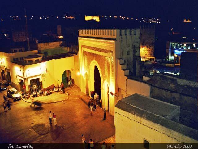 Zdjęcia: Fez, Brama Bab Bou Jeloud w Fezie, MAROKO