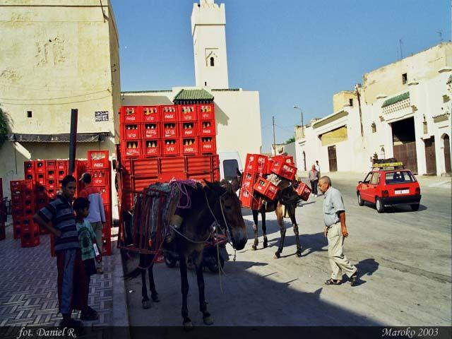 Zdjęcia: Fez, Handel, MAROKO