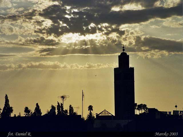Zdjęcia: Marrakesz, Marrakesz o zmierzchu, MAROKO
