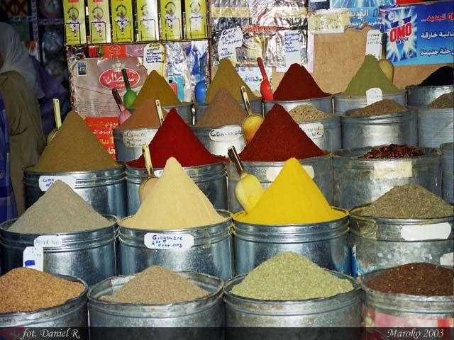 Zdjęcia: Marrakesz, Magia kolorów, MAROKO