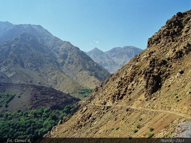 Zdjęcia: Dolina Imlil, Atlas Wysoki, Atlas Wysoki, MAROKO