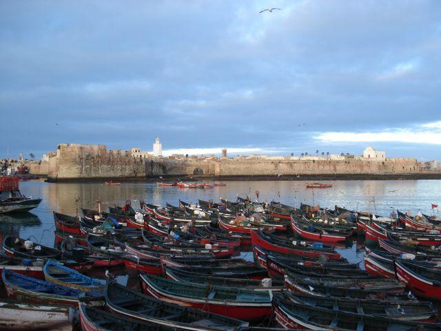 Zdjęcia: El Jadida (port. Mazagan), El Jadida, Port w El Jadida, MAROKO