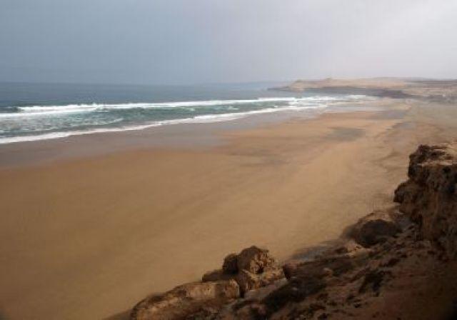 Zdjęcia: plaża, okolice Agadiru, plaża, MAROKO