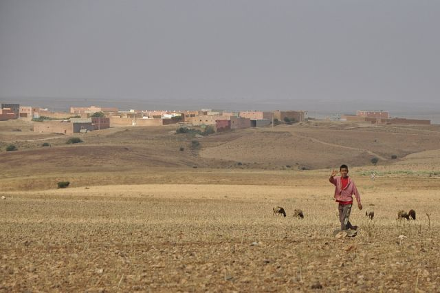 Zdjęcia: Maroko, okolice Tafraote, W drodze, MAROKO