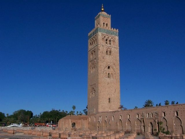 Zdjęcia: Marrakesz, minaret Kutubijja, MAROKO