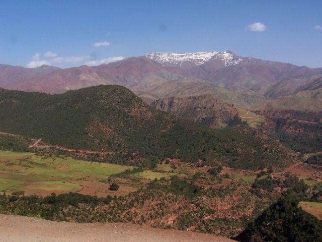 Zdjęcia: Atlas, malownicze góry Atlas, MAROKO