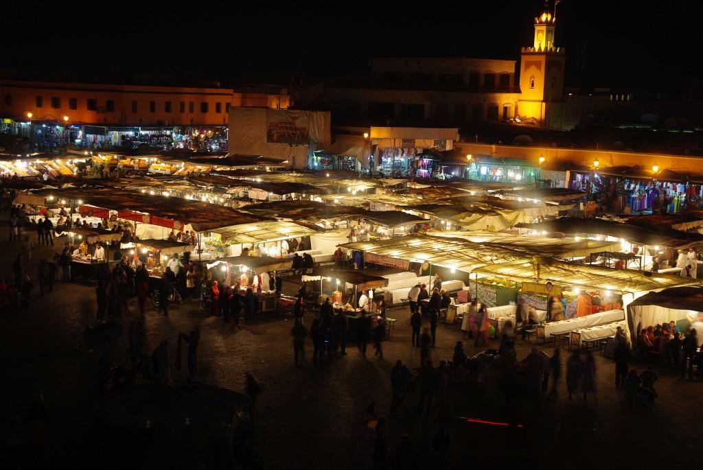 Zdjęcia: Marrakesz, Marrakesz-Tansift-Al-Hauz , Plac Dżamaa al-Fina, MAROKO