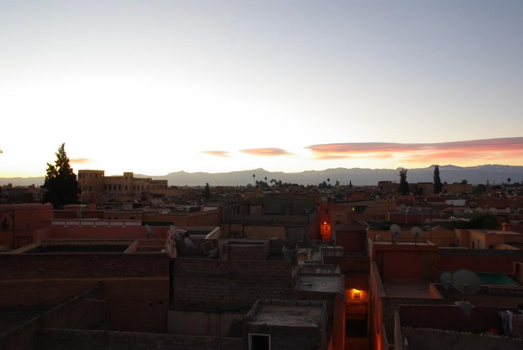 Zdjęcia: Marrakesz, Marrakesz-Tansift-Al-Hauz , na dachu mediny, MAROKO