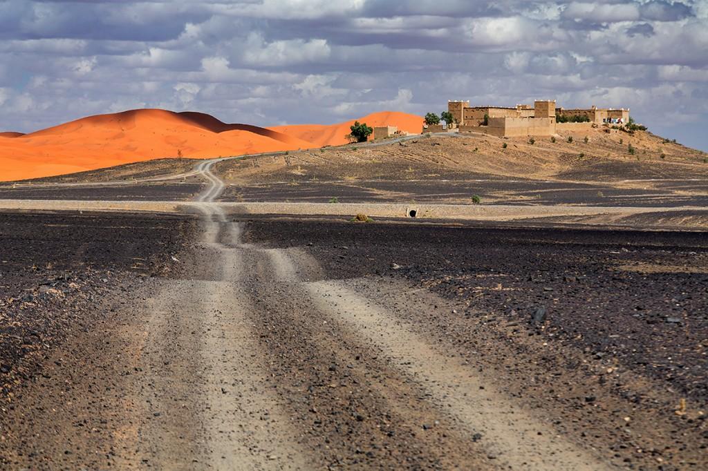 Zdjęcia: Merzuga, Sahara, na skraju pustyni, MAROKO