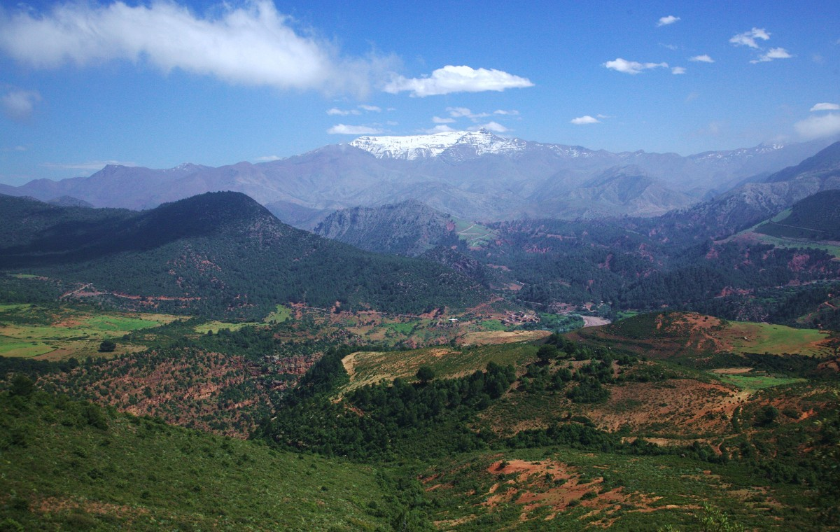 Zdjęcia: Tizin Tichka , Góry Atlas, Daleki szlak, MAROKO