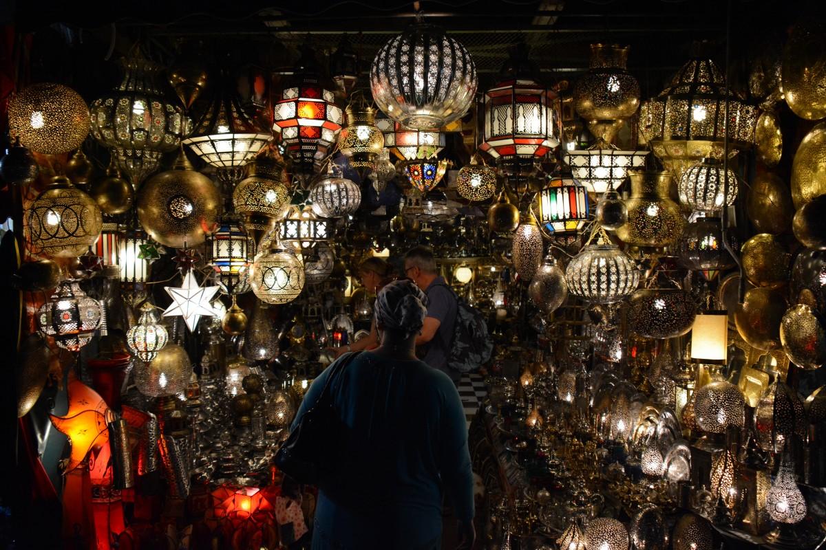 Zdjęcia: Plac Jemaa El Fna, Marrakesz, Światła Marrokańskich Latarni, MAROKO