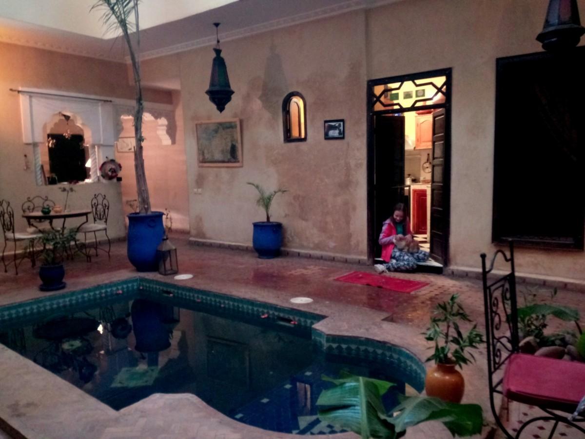 Zdjęcia: Atlas Wyski, Atlas Wyski, Marrakesz - Riad Suliman, MAROKO