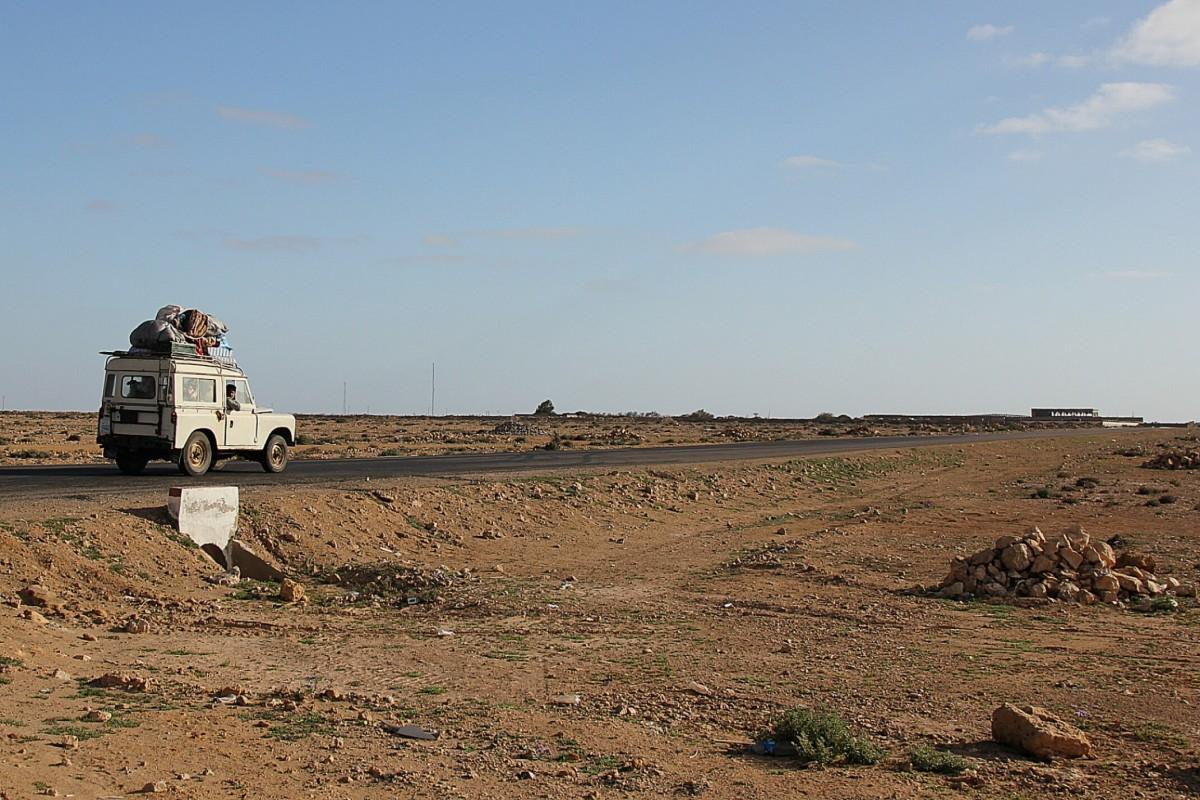 Zdjęcia: Sahara Zachodnia, Sahara Zachodnia, Chłopaki i ich koza, MAROKO