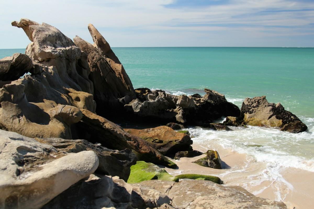 Zdjęcia: Portorico, Sahara Zachodnia, Plaża w Portorico, MAROKO