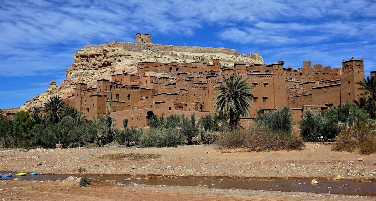 Zdjęcia: Ait Ben Haddou , południowe podnóże Atlasu Wysokiego, Ksar Ait Ben Haddou, MAROKO