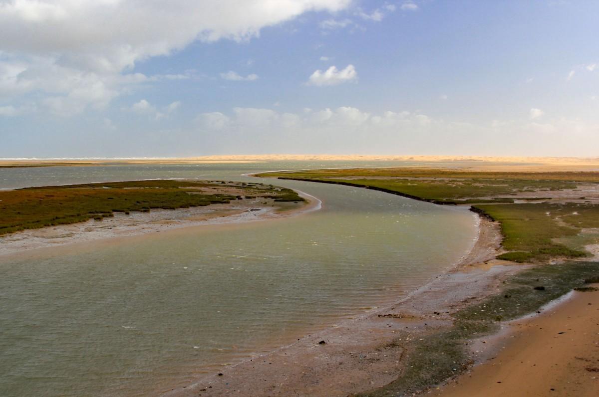 Zdjęcia: Park Narodowy Khenifiss, Laâyoune-Sakia El Hamra, Laguna między pustynią,a oceanem, MAROKO