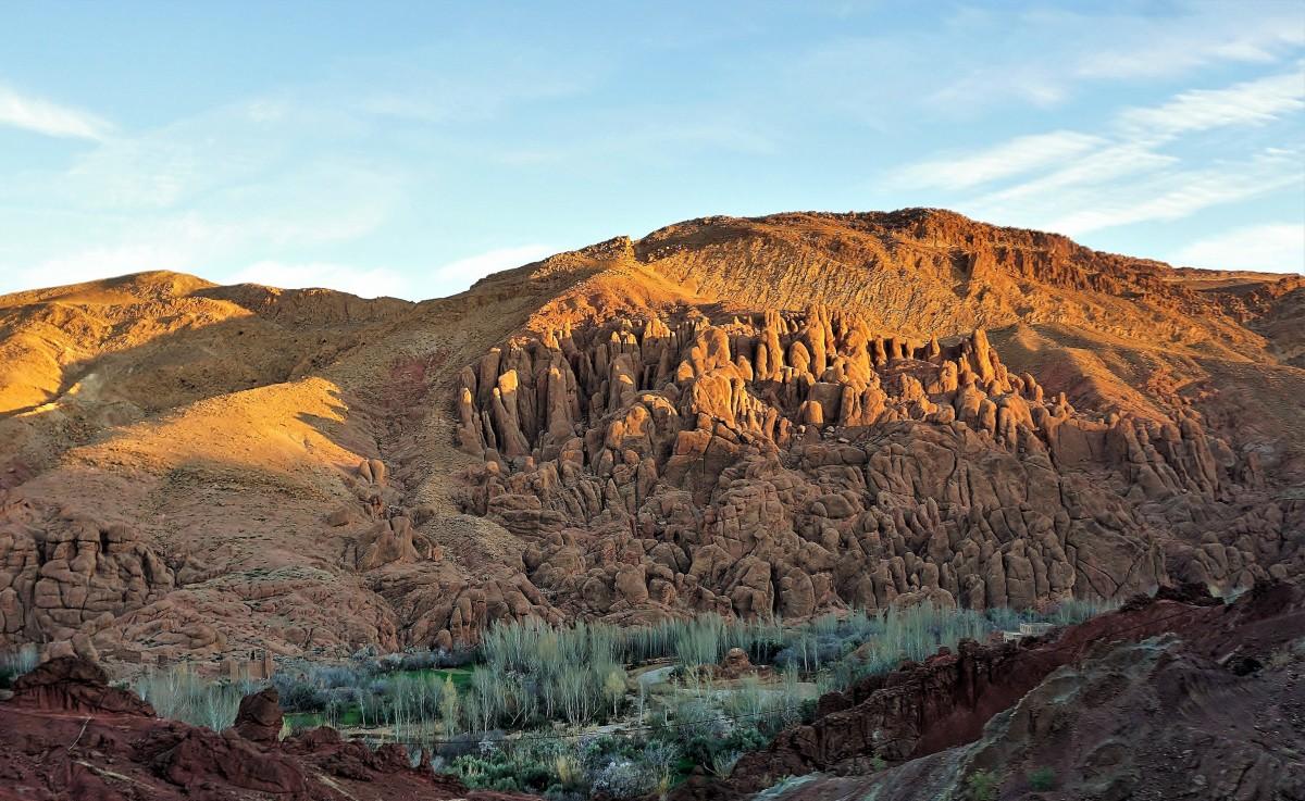 Zdjęcia: Wąwóz Dades, Dolina Dades, Kolory Maroka, MAROKO