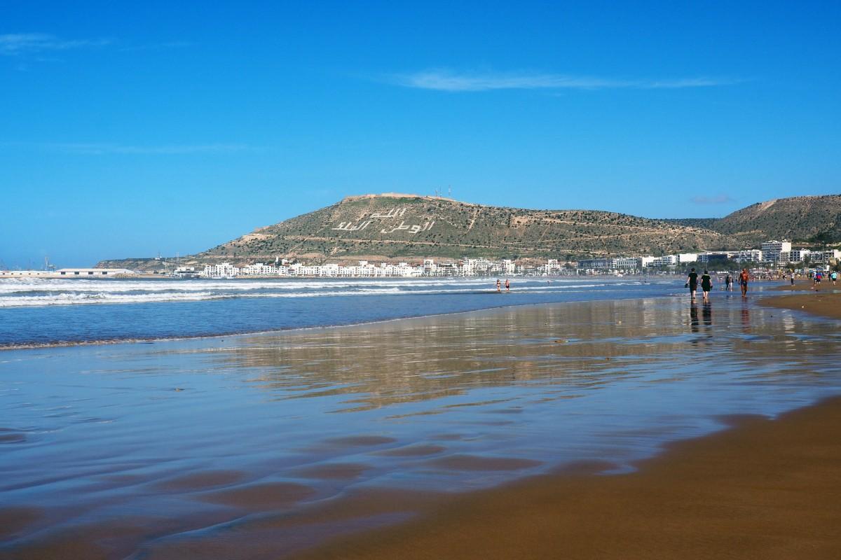 Zdjęcia: Agadir, Sus-Massa, Z widokiem na cytadelę., MAROKO