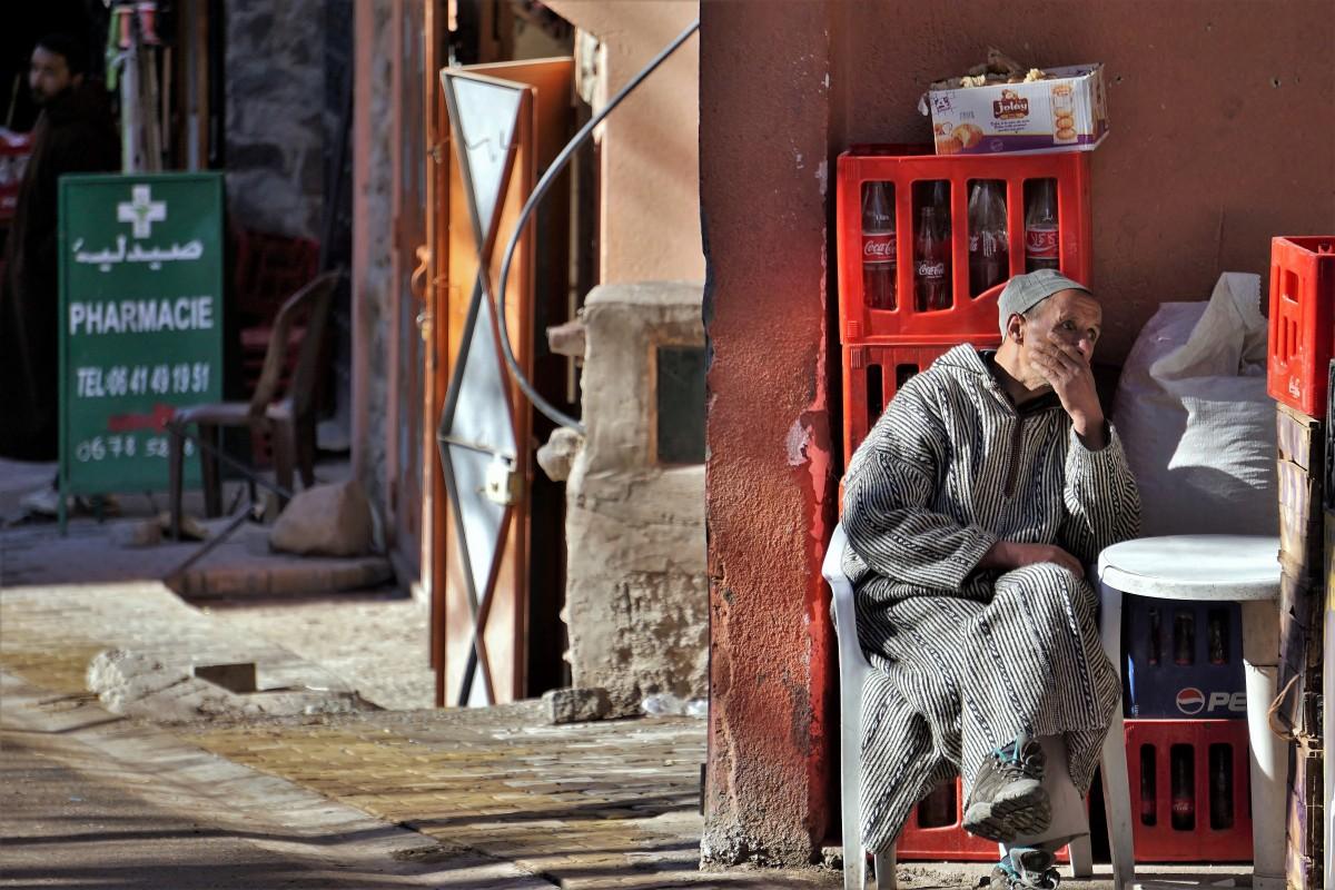 Zdjęcia: Imlil, Atlas Wysoki, Look, jakby mniej komercyjny., MAROKO