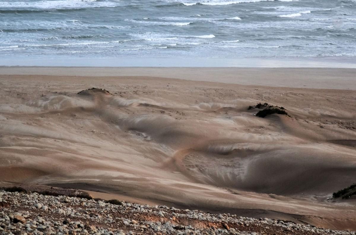 Zdjęcia: Oued Draa, Tan Tan, W stronę oceanu, MAROKO