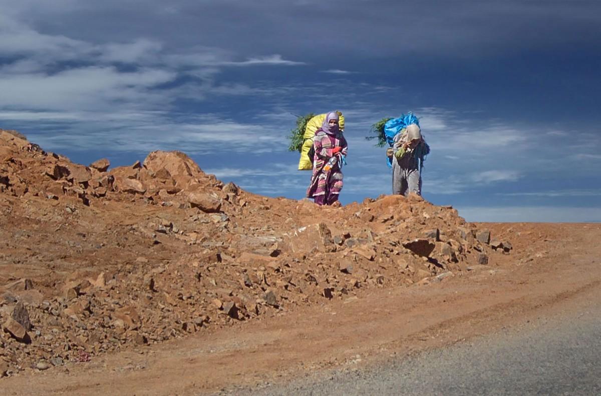 Zdjęcia: Les cascades de Tizgui, Maroko, W drodze do domu, MAROKO