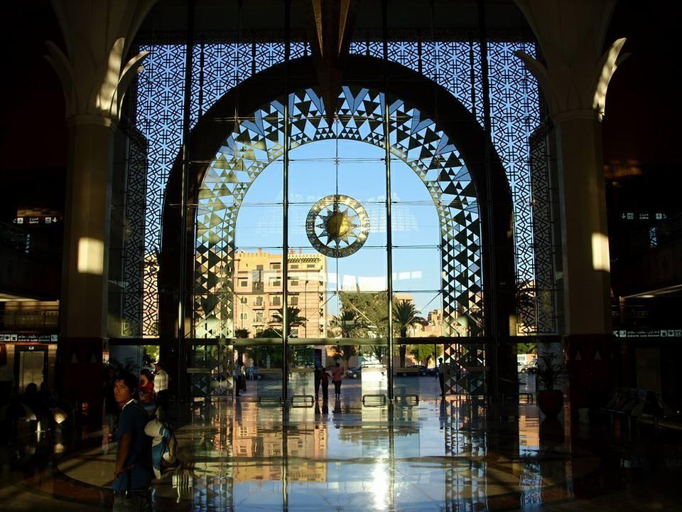 Zdjęcia: Marakesz, Marakesz, Dworzec kolejowy w Marakeszu, MAROKO