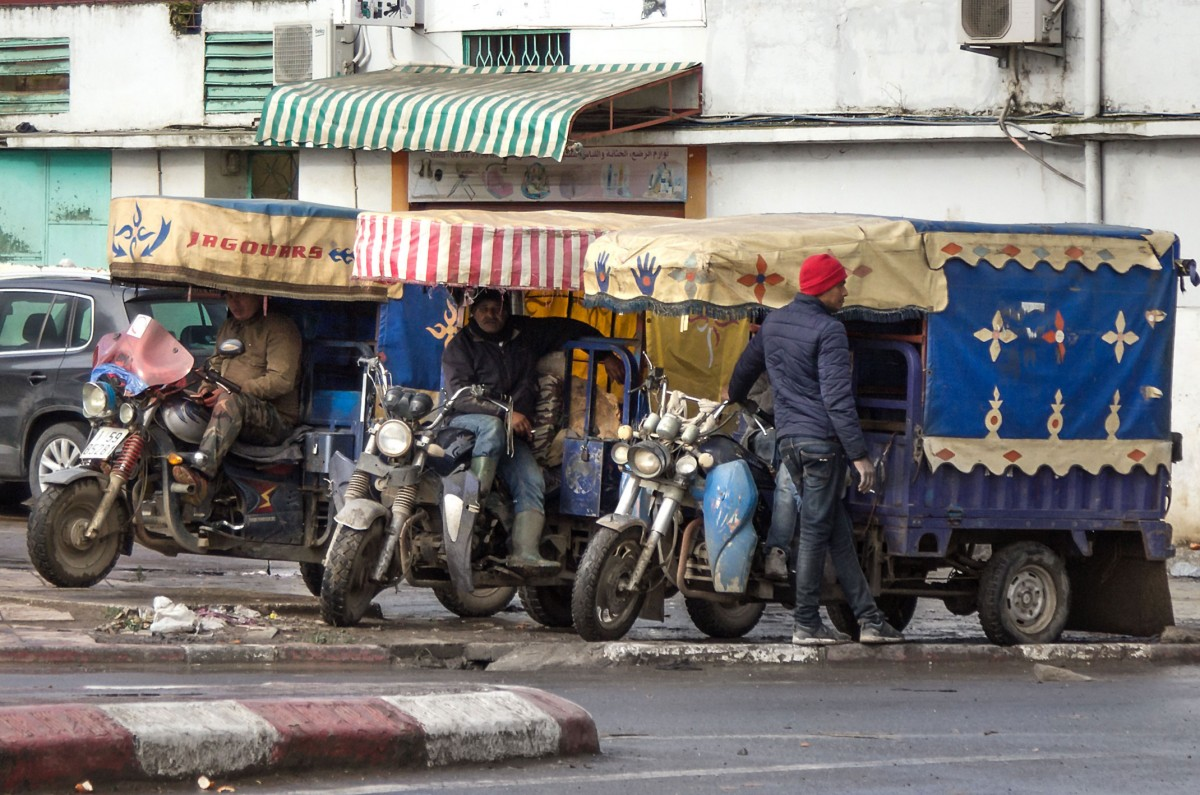 Zdjęcia: gdzieś po drodze, Kenitra, Dockery trzy, MAROKO