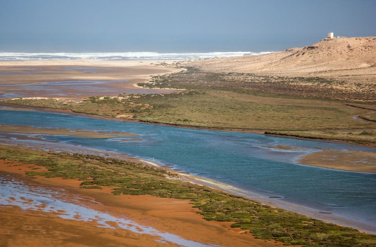 Zdjęcia: Oued Draa, Kulmim-Asmara, Po deszczu, MAROKO