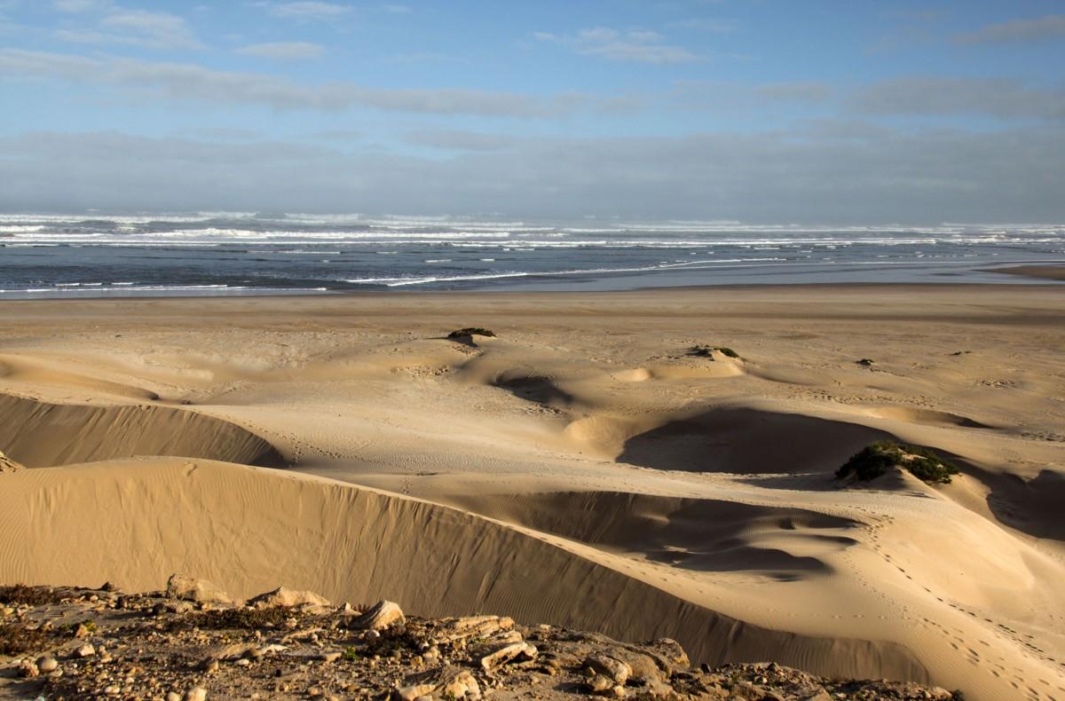 Zdjęcia:  Foum Draa,  Kulmim-Asmara,, Plaża, MAROKO
