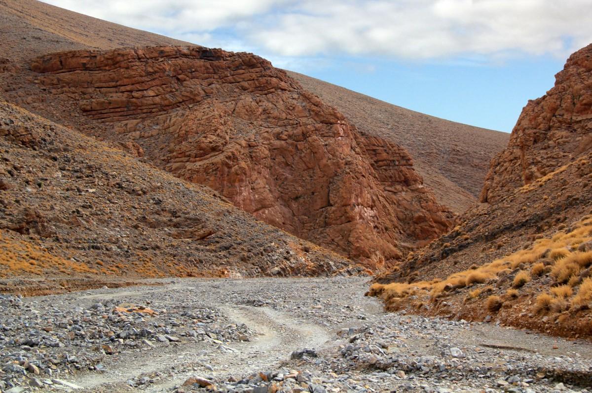 Zdjęcia: gdzieś po drodze, Maroko, Kamienistym szlakiem, MAROKO