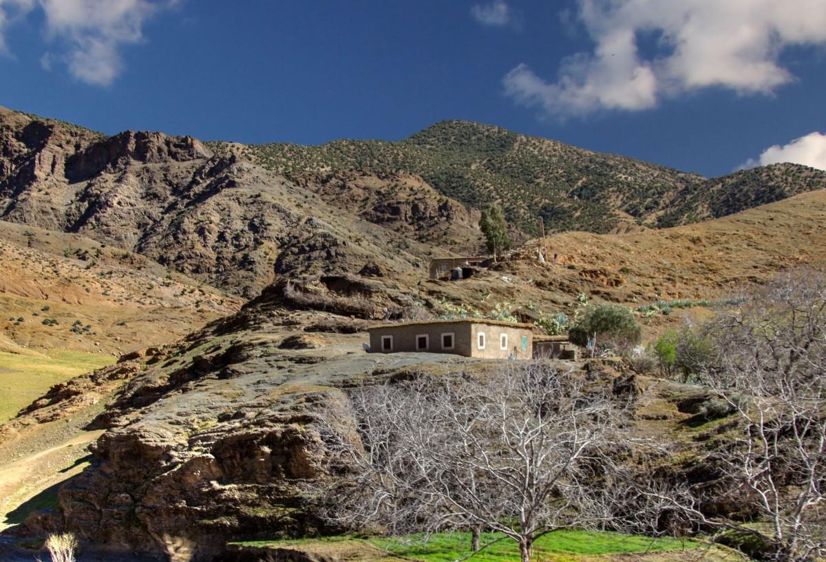 Zdjęcia: gdzieś po drodze, Maroko, Zamieszkać na górce, MAROKO