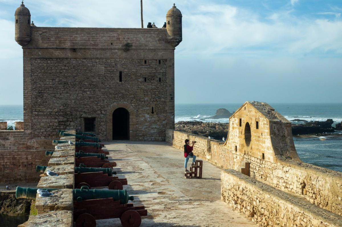 Zdjęcia: fort, As Sawira, Ułatwienia dla fotografujących ;-), MAROKO