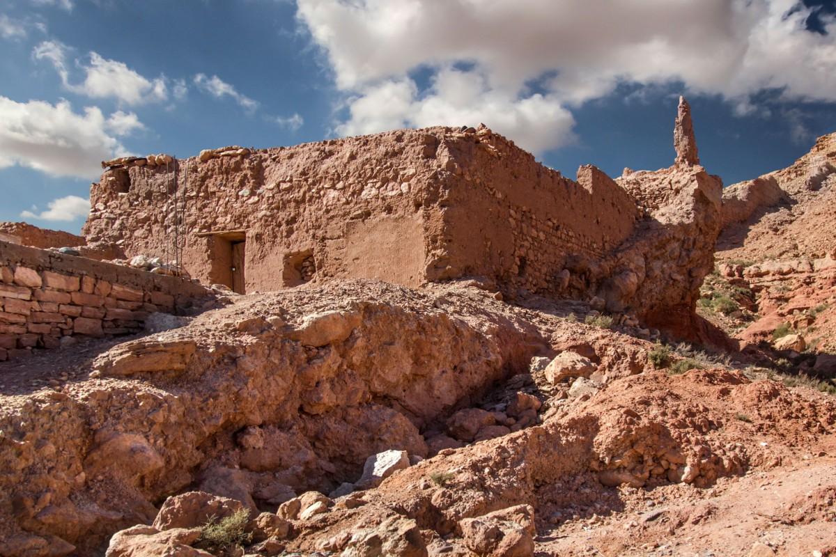Zdjęcia: gdzieś po drodze, Maroko, Mieszkanie w ruinach, MAROKO