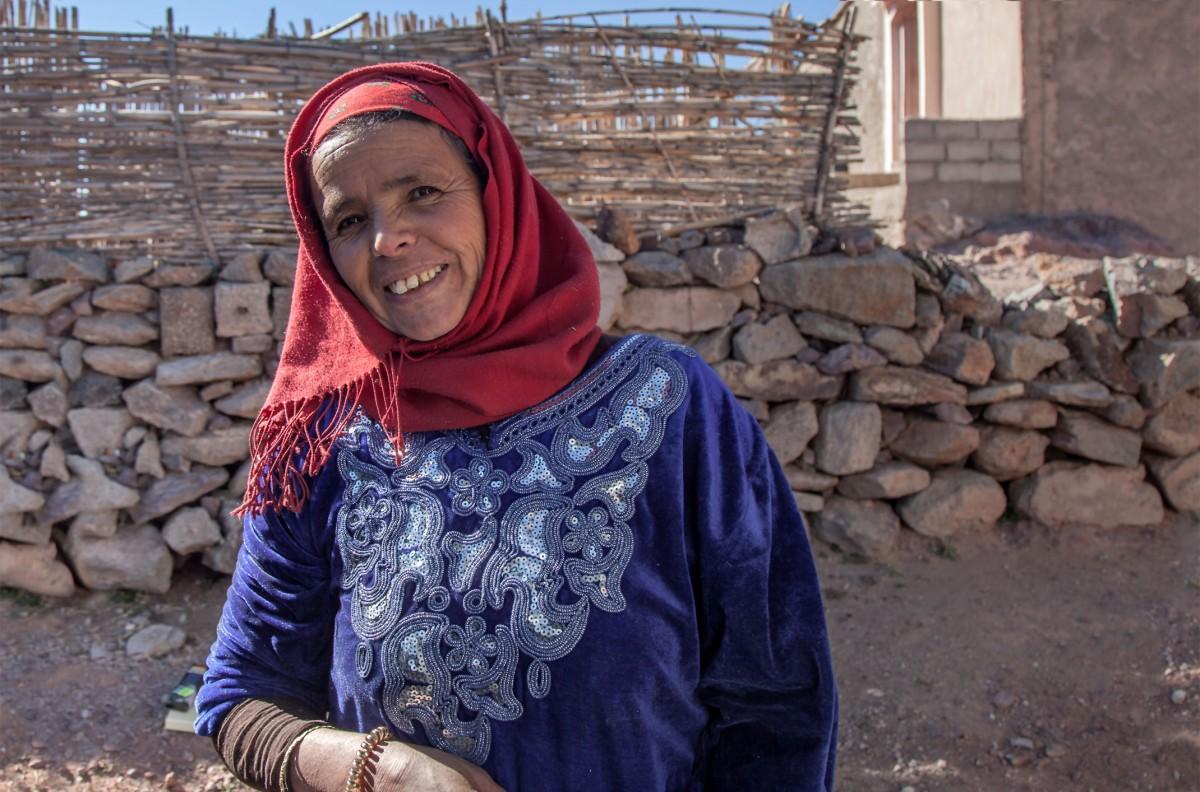 Zdjęcia: wioska, Souss-Massa, Wąwóz Tislit, MAROKO