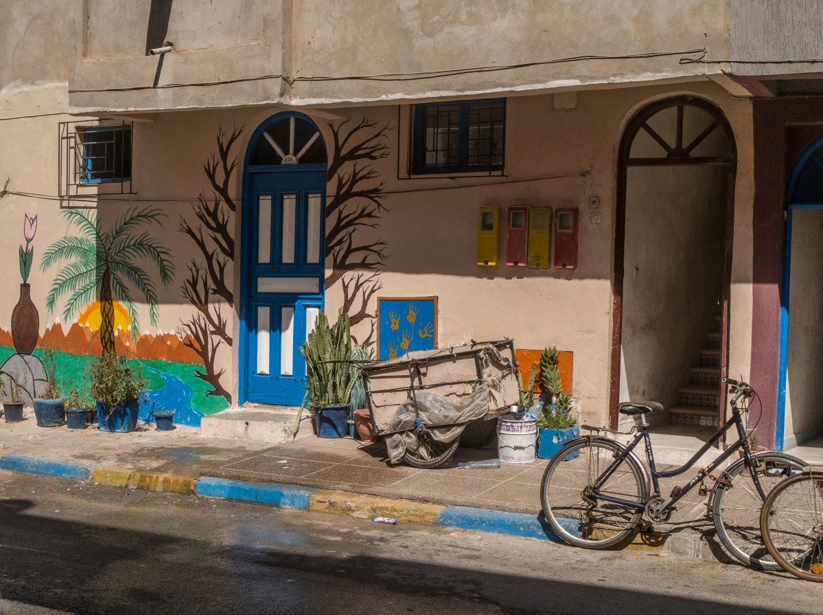 Zdjęcia: Essaouira, Marrakesz-Safi, kolorami miasta, MAROKO