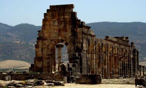 Zdjecie MAROKO / - / Volubilis / Ruiny rzymskiego miasta